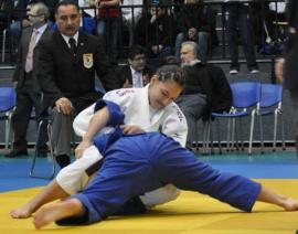 Aléxia Castilhos fatura mais uma medalha de prata | Foto: CBJ