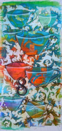 8 of cups painting