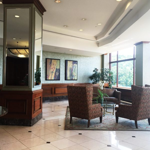 The Palisades Condos Fort Lee NJ l-- Luxury Lobby