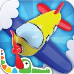 Build and play 3D – planes, trains, robots and more