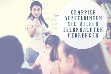 grappige afbeeldingen die alleen leerkrachten herkennen