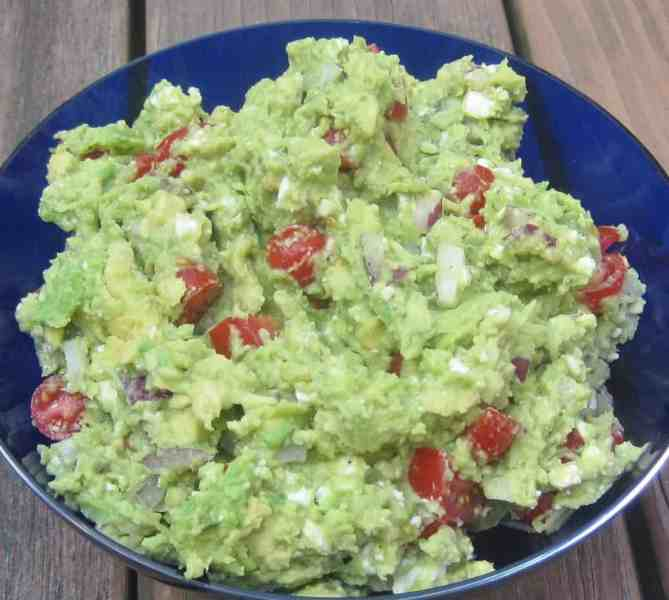 Guacamole with Feta -- Juggling With Julia
