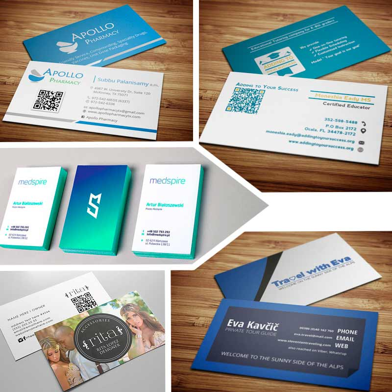 Double sided business cards creative ideas for your business