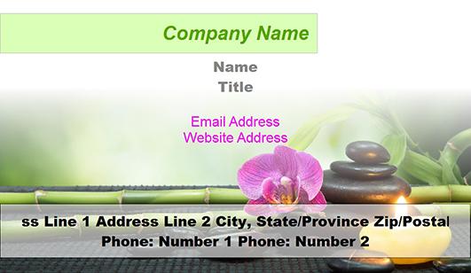 Massage therapist business card templates u2013 JuicyBC Blog - name card example