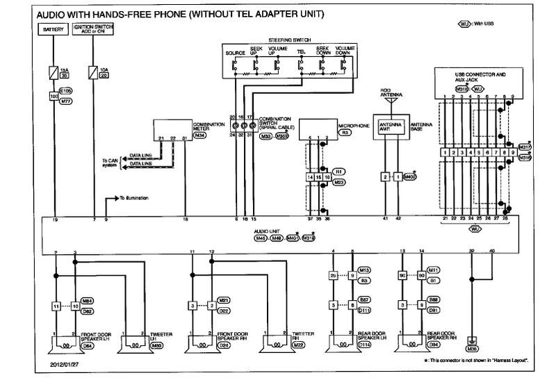nissan x trail t31 electrical diagram