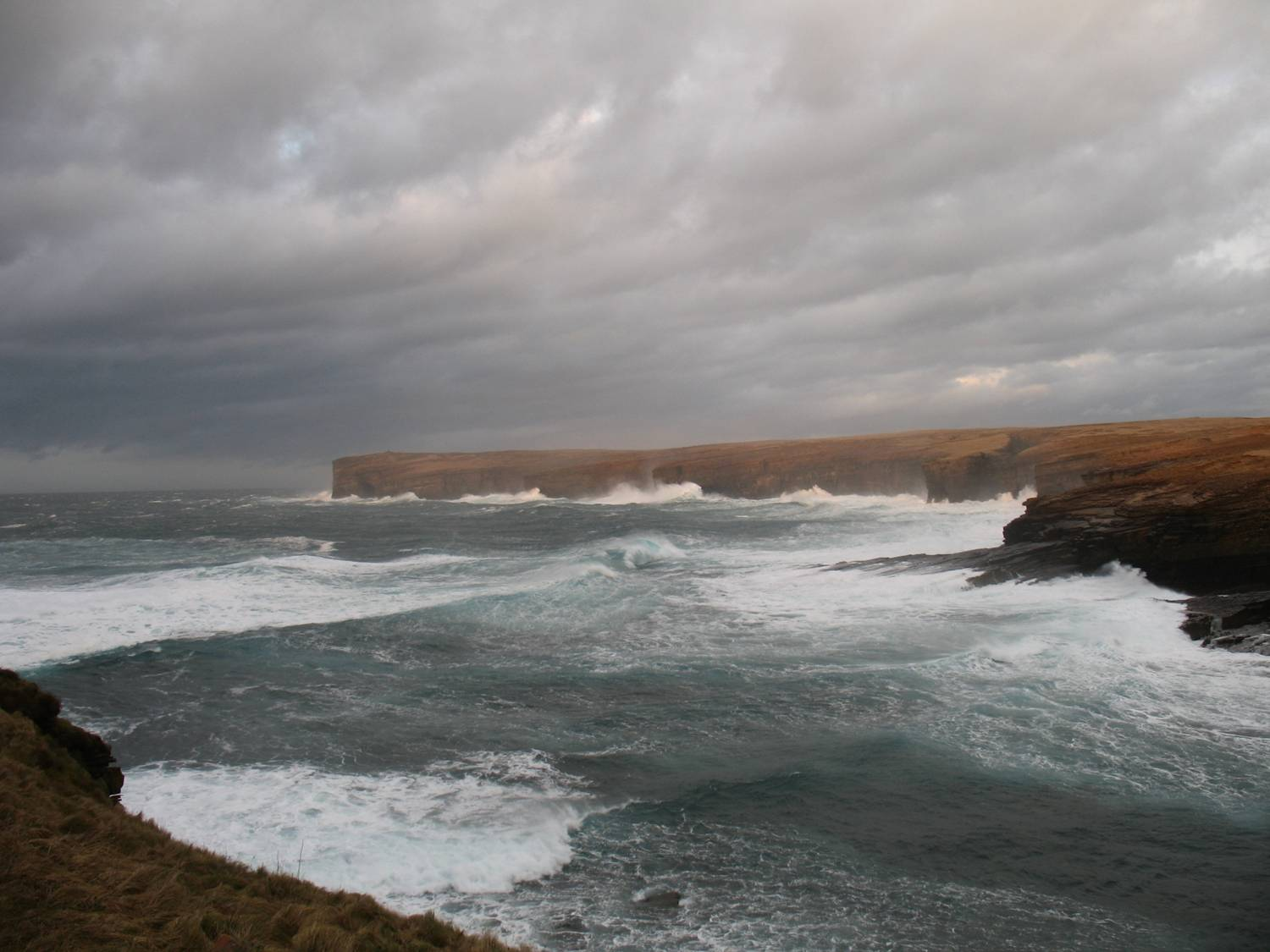 Orkney Islands is one of the most wave powerful sites of Europe
