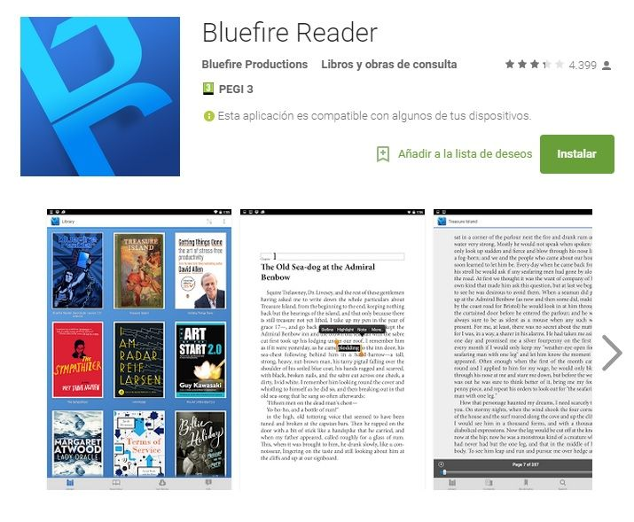 Bluefire Reader