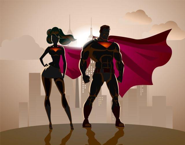 Los bibliotecarios son superhéroes para la sociedad