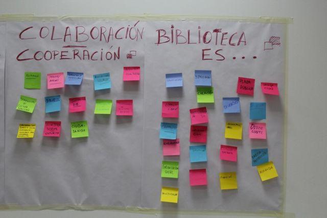 Colaboración con entidades y biblioteca es... (CC @tabakalera)