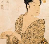 Estampe d'Utamaro