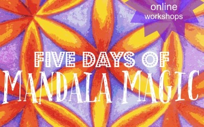 Five Days of Mandala Magic Registration Re-opens Due to High Demand