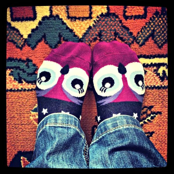owl socks by M&S