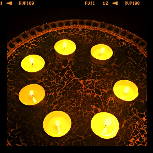 intentions tealights