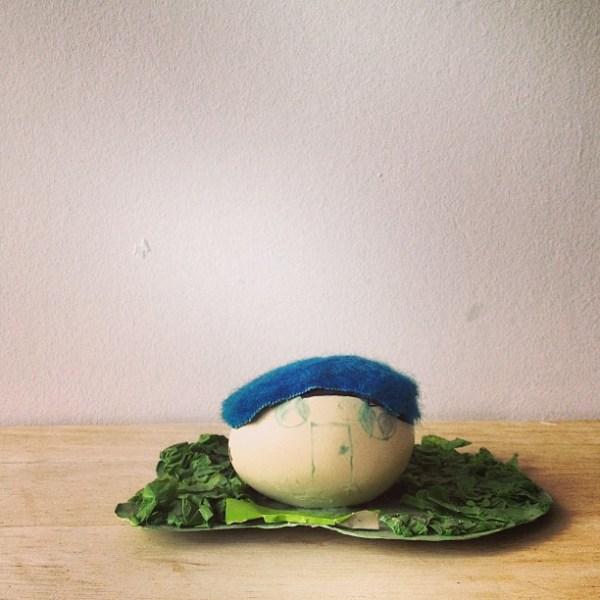 house made of egg