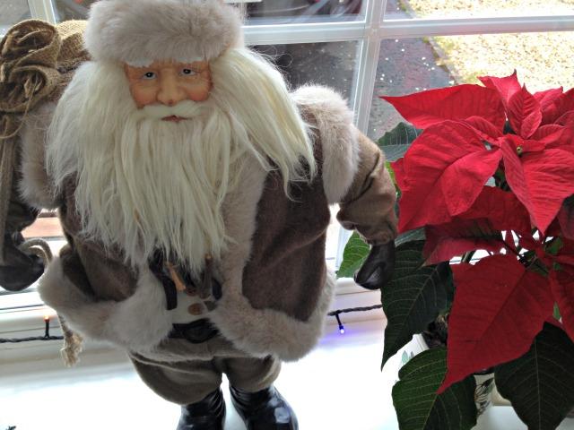 Santa and my peak of the week