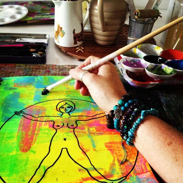 Painting Mandalas