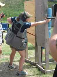 Julie G, 2010 IDPA Ladies National Champion - Photo Courtesy of Leigh Ann Jeter