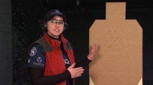 Shooting USA Carry Gun Pro Tip with JulieG