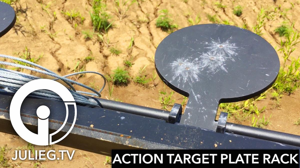 My New Action Target Plate Rack Video Juliegtv Julie