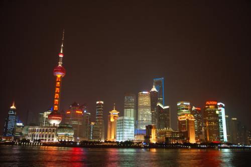 Pudong, vu du Bund