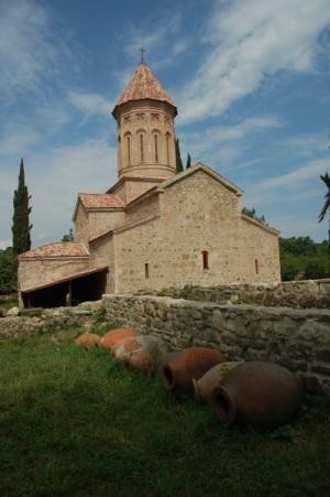 Qvevris au monastère d'Ikatlo