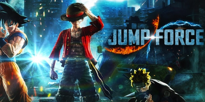 Luffy Hd Wallpaper For Android E3 Jump Force Dbz X Naruto X One Piece