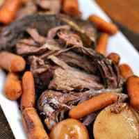 Crock Pot Balsamic Roast