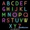 alfabeto-neon-vector