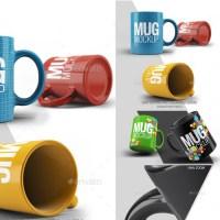 Template de Tazas de Café para Colorear con Photoshop