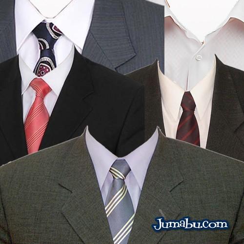 plantilla para colocar un traje a tu foto de curriculum