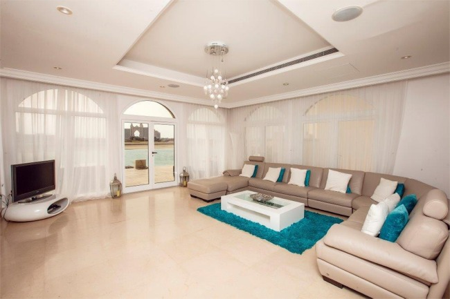 Vacation Villa Rental On Jumeirah Palm Dubai Palm Villa