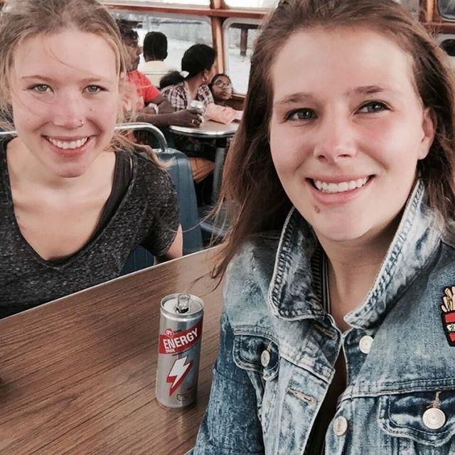 Bootje varen door Amsterdam ams holland boat canals girls friendshellip