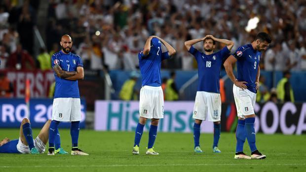 Italien ist ausgeschieden. Nach 18 Penalties.