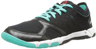 Reebok Women's One TR 2.0 Cross-Training Shoe, Black/Timeless Teal/White, 8.5 M US $25.50 (reg. $84.99)