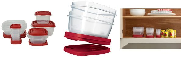 Amazon deal on Rubbermaid  Easy Find Lid 18-Piece Food-Storage Container Set with Lids $9.99 (reg. $16.49) jungledealsblog.com