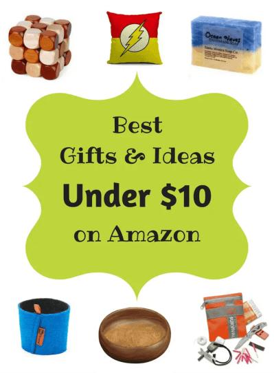 Best Gifts & Ideas On Amazon Under $10