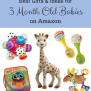 Best Gifts Ideas For 3 Month Old Babies On Amazon