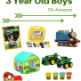 Best Gifts Ideas For 3 Year Old Boys On Amazon