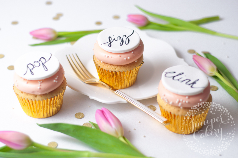 Tips for painting calligraphy onto cake by Juniper Cakery