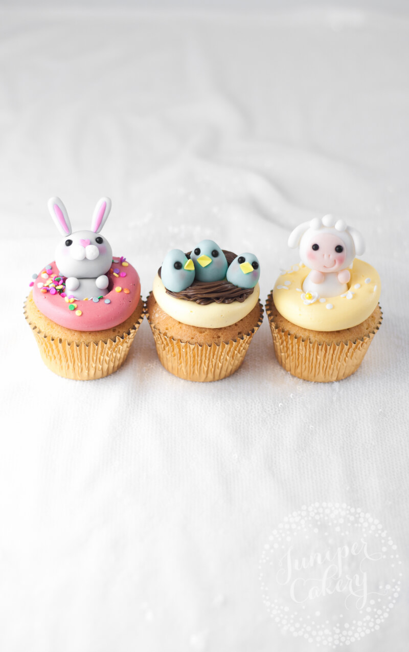 Fun Easter cupcakes by Juniper Cakery