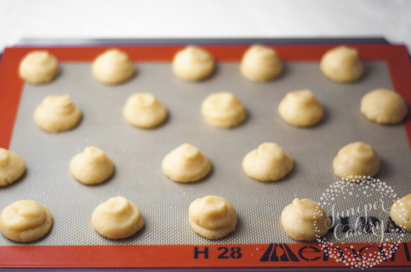 How to bake cream puffs by Juniper Cakery