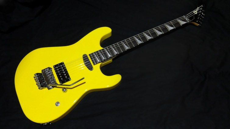 Charvel Yellow Reverse Head