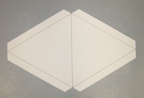 Build a D-Stix Tetrahedral Kite! - kite template