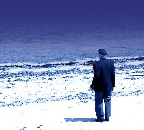 1) Jake's Gift - Veteran at Juno Beach June 2004 - Photo By Julia Mackey