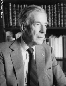 John Kenneth Galbraith (c) Jerry Bauer