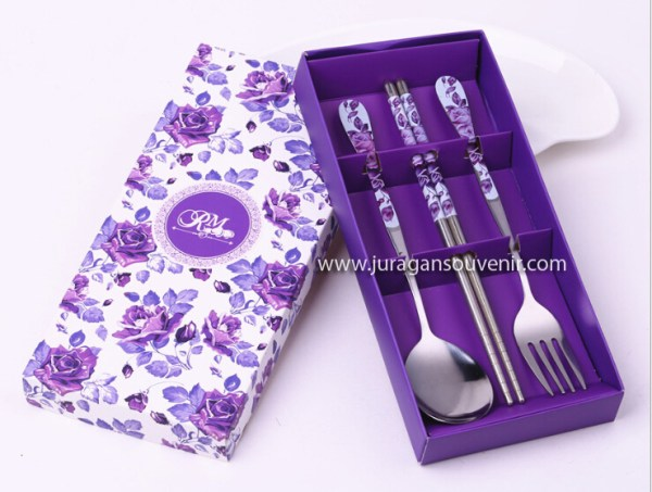Purple Spoon Sets