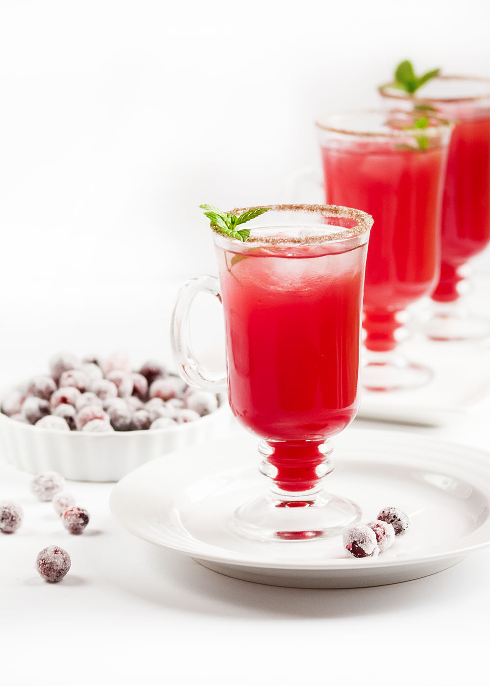 Cranberry Ginger Fizz Cocktail - This cranberry cocktail is an easy ...