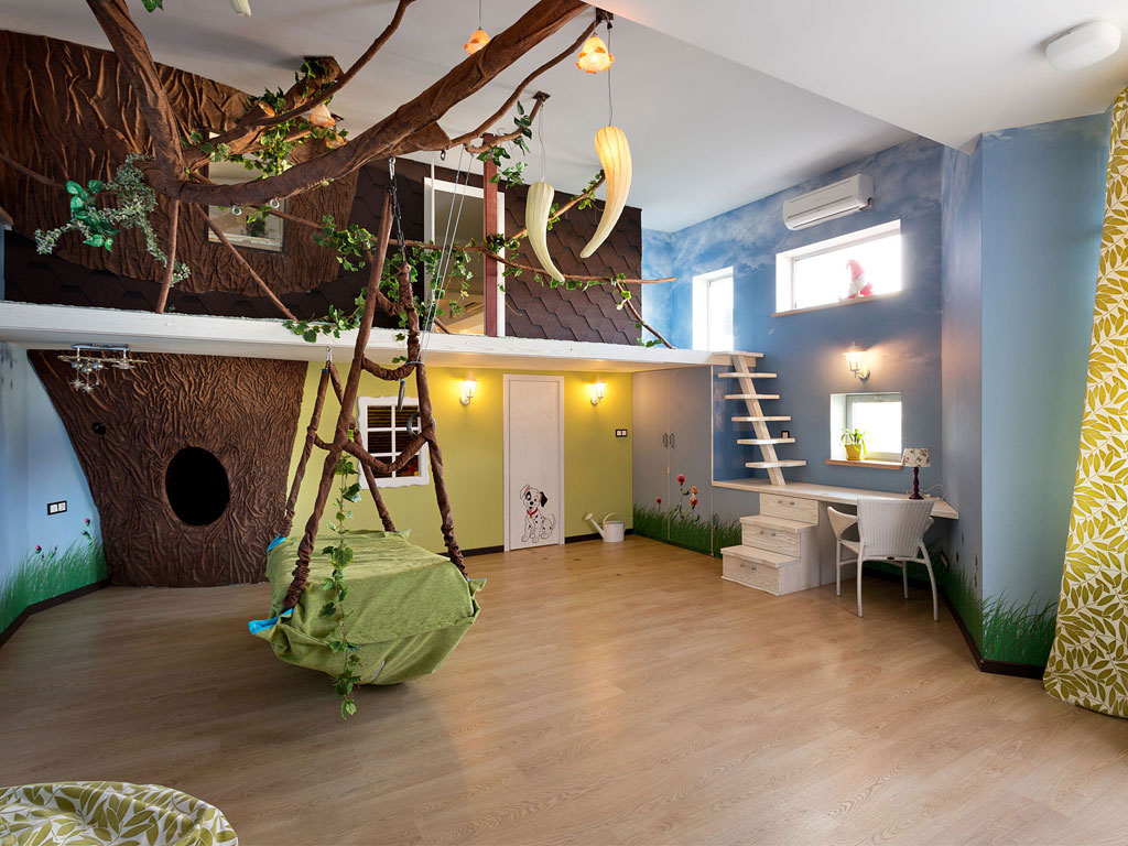 Awesome Kid Bedrooms The Jungle Just Amorous