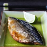 Salt Grilled Mackerel (Saba Shioyaki)
