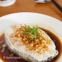 Hong Kong Style Steamed Cod Fish